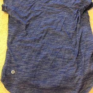 Blue silver tech size 6
